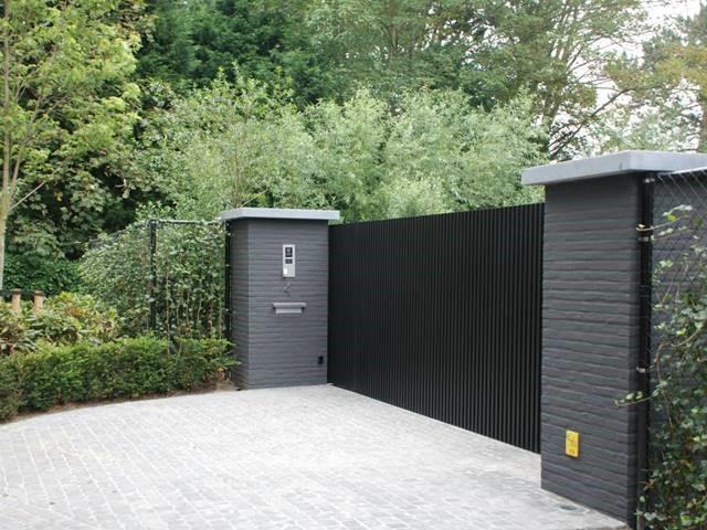 Alinel poort D-fence