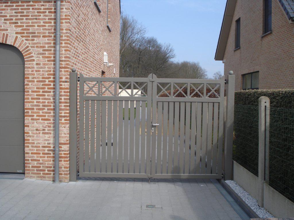 Cottage poort D-fence