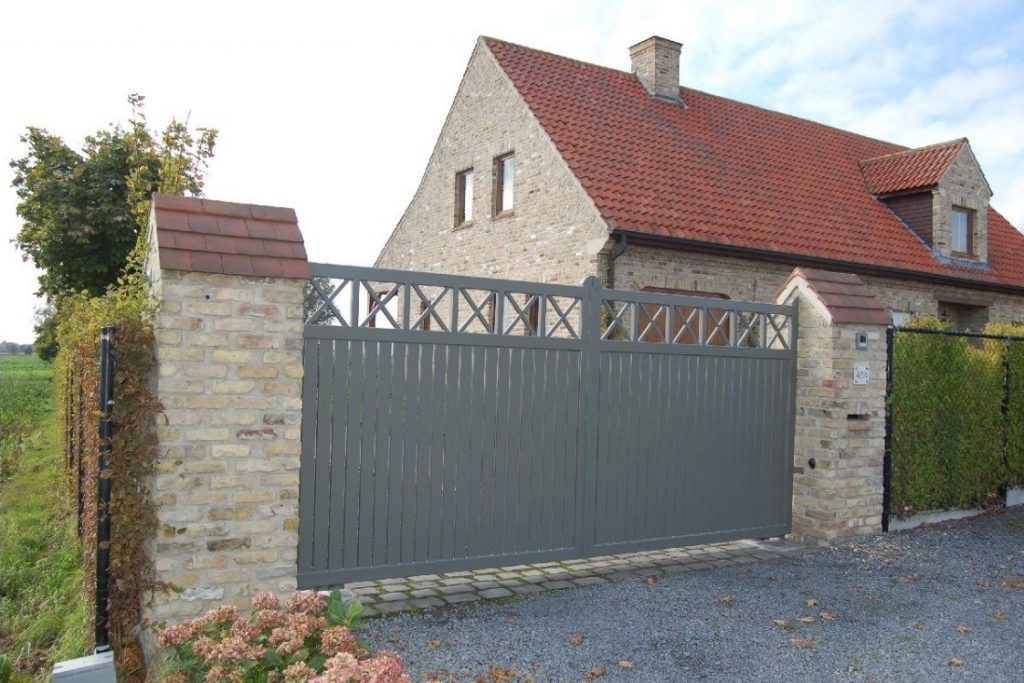Cottage poort D-fence
