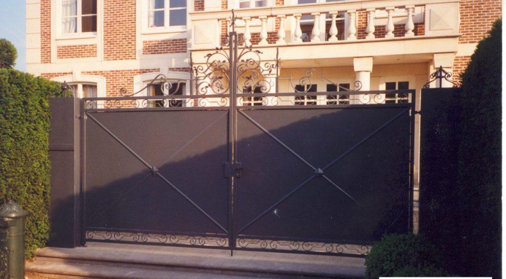 Elegance poort D-fence