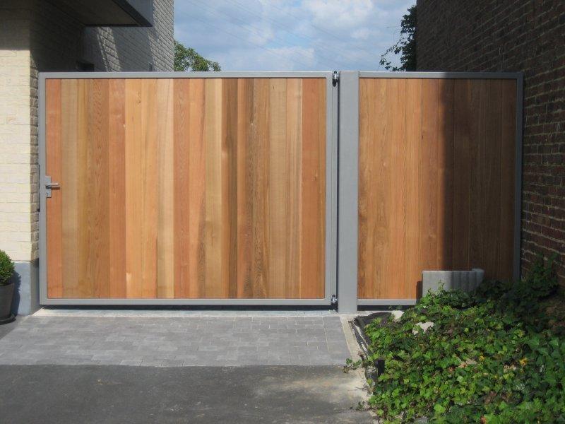 Forest Hamme poort D-fence