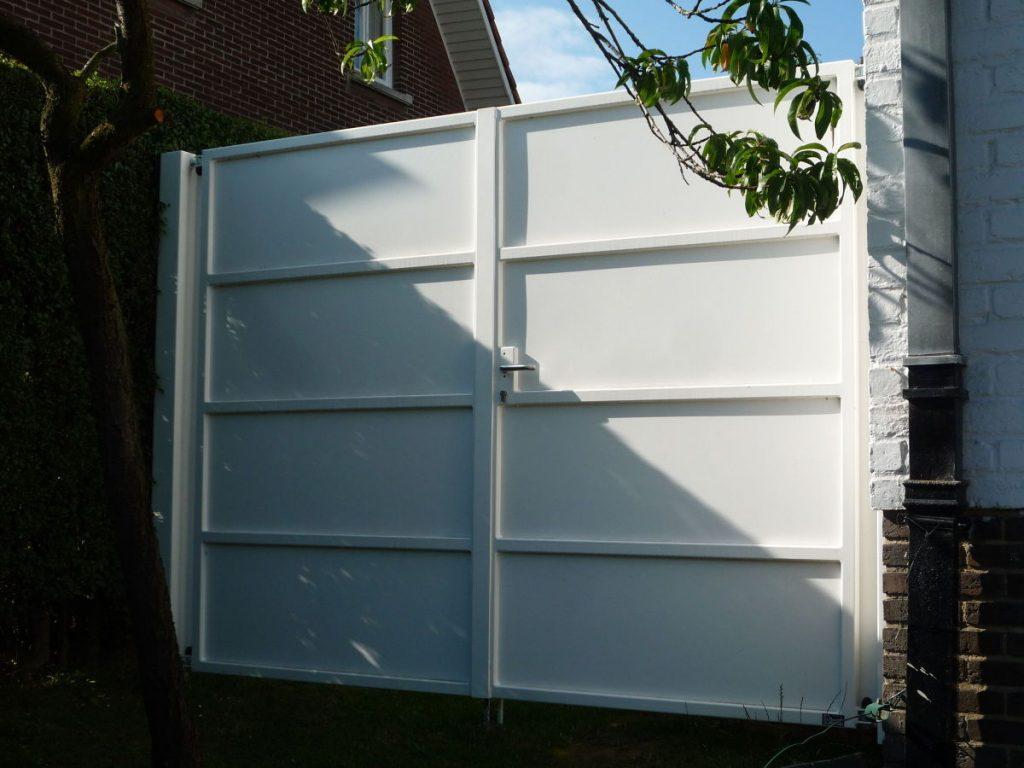 Kwai gesloten poort D-fence