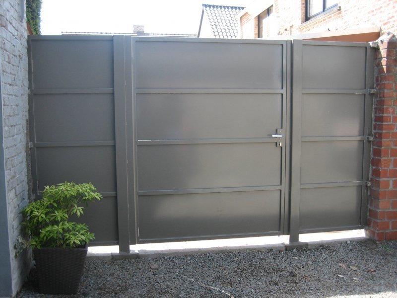 Kwalu Plein poort D-fence