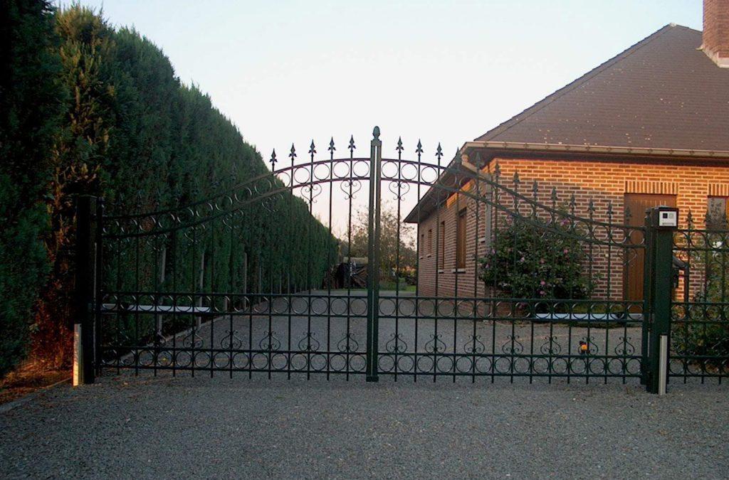 Leie poort D-fence