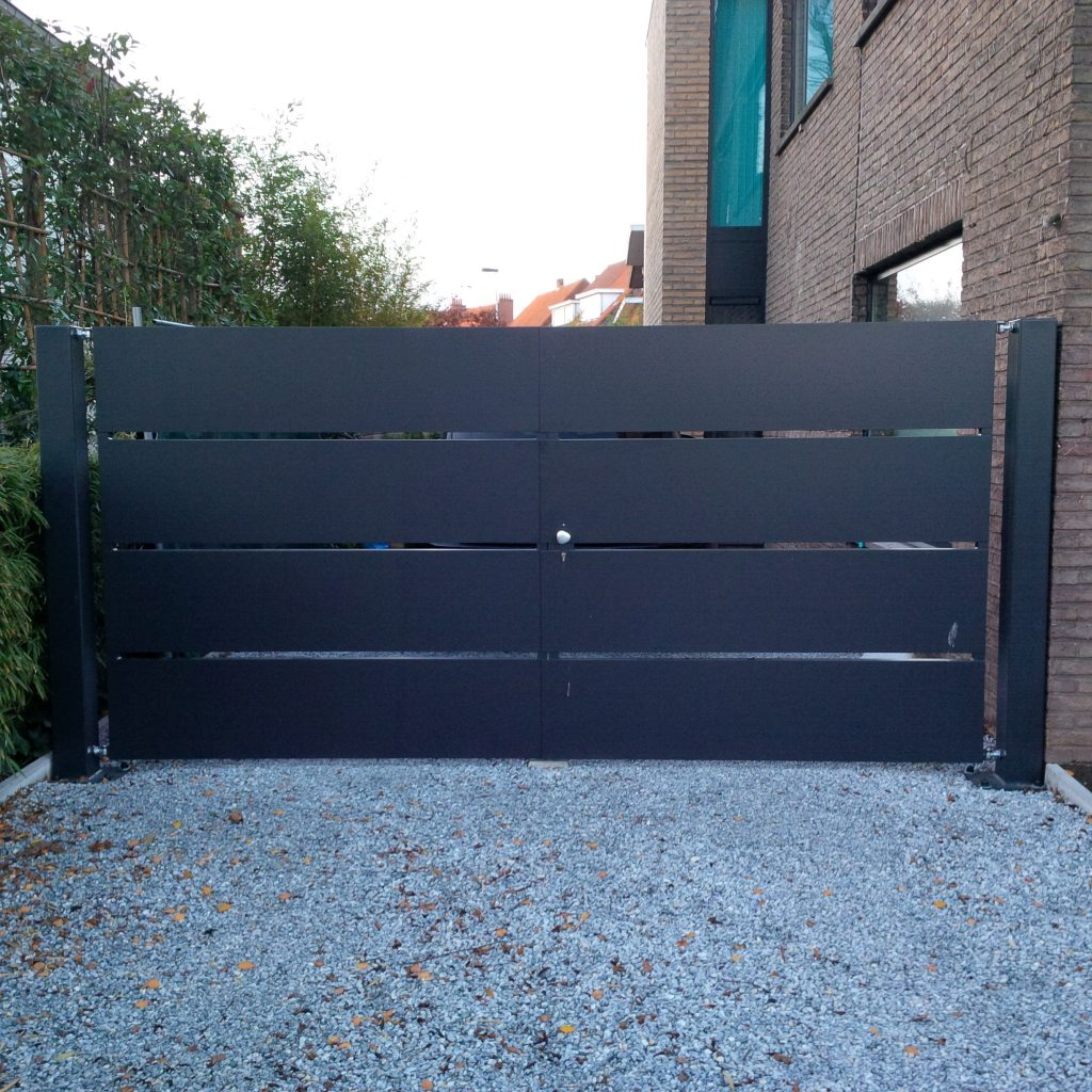 Sectionaal poort D-fence