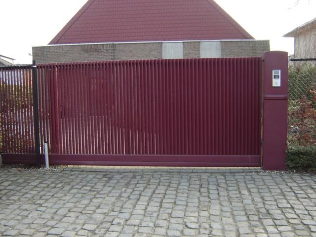 Grembergen poort D-fence