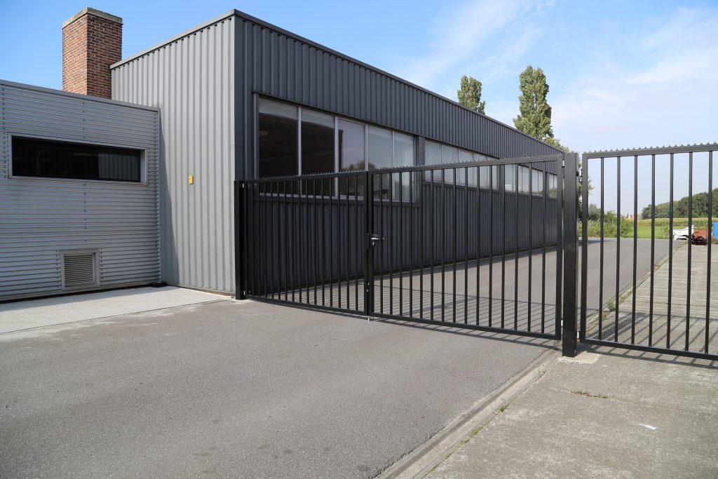 Industrie poort D-fence