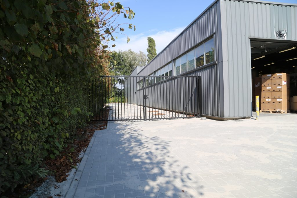 Industrie poort D-fence