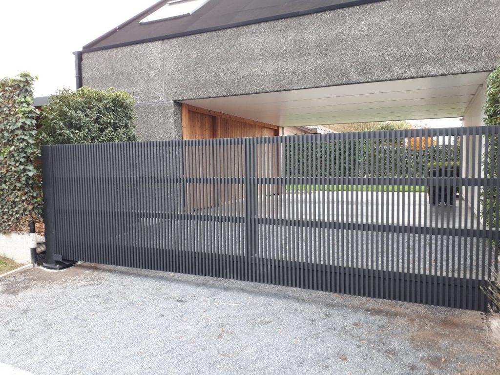 Martens ALU poort D-fence