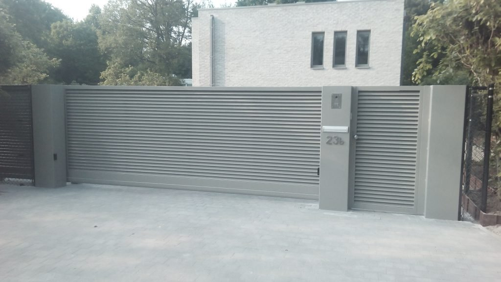 Asterix poort D-fence