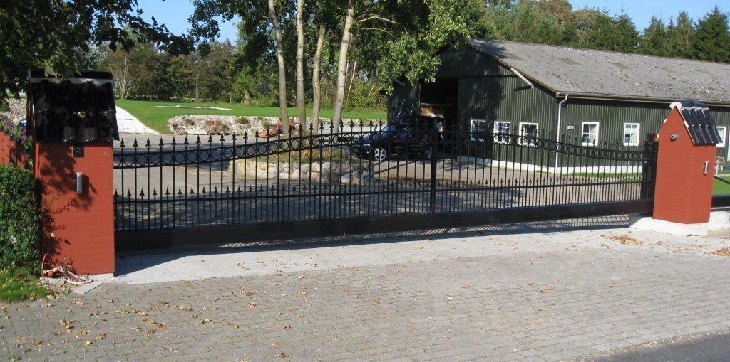 Beekvliet poort D-fence