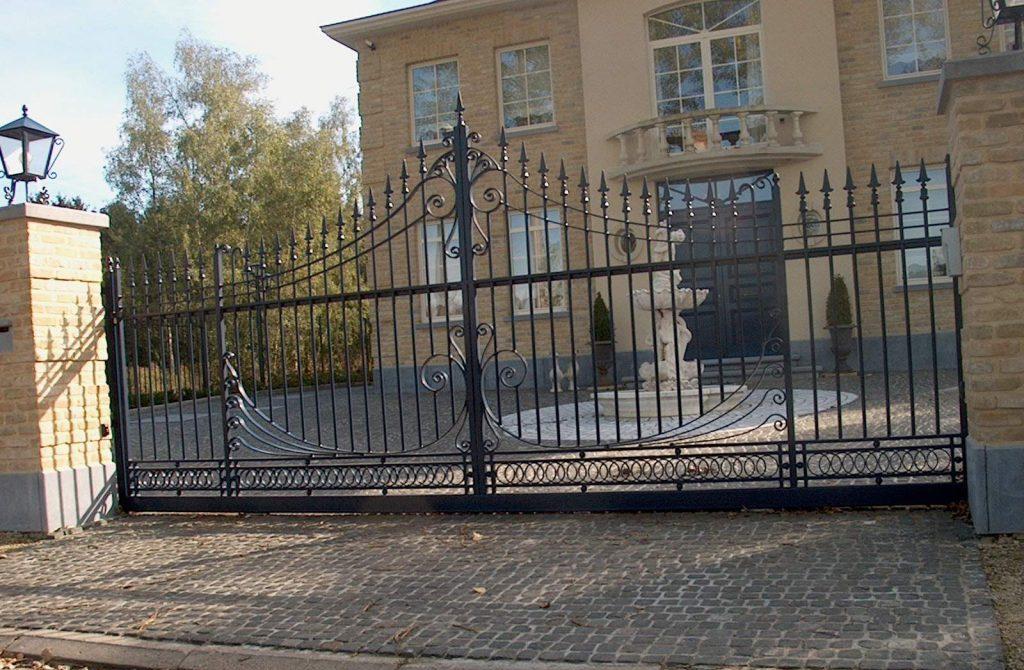 Siret poort D-fence