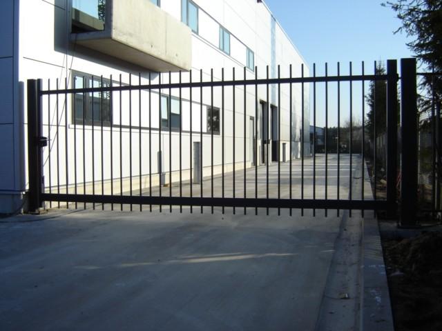 Traversa poort D-fence