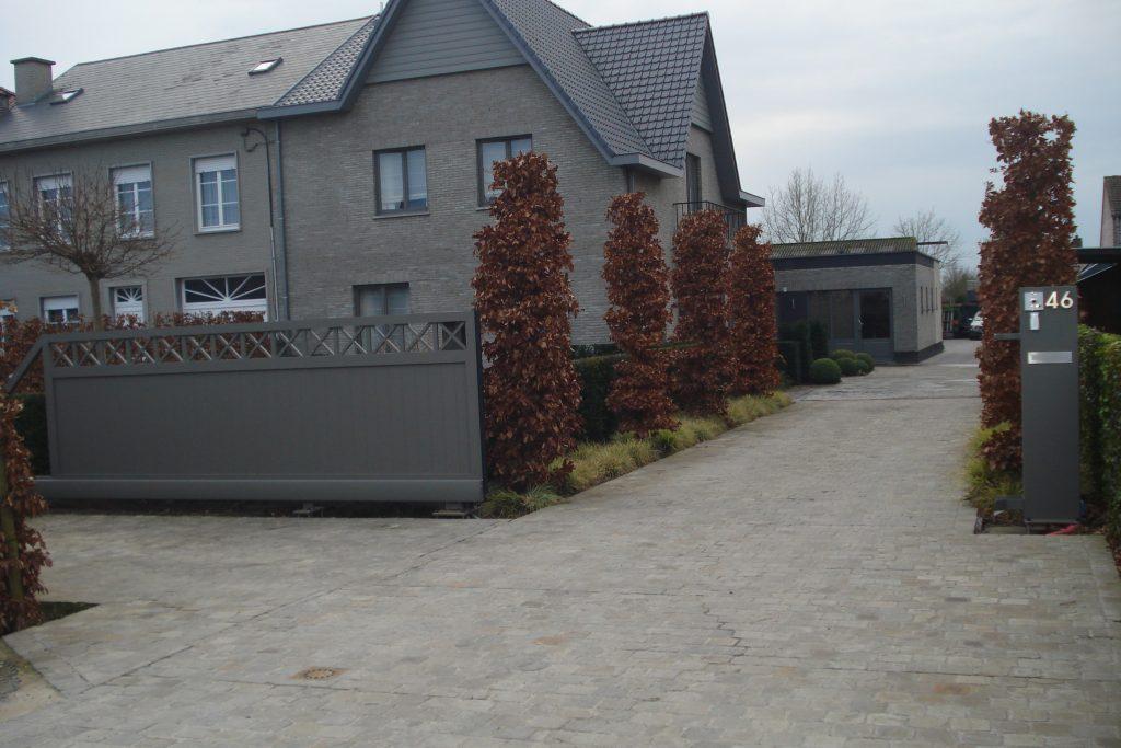 Alsemberg poort D-fence