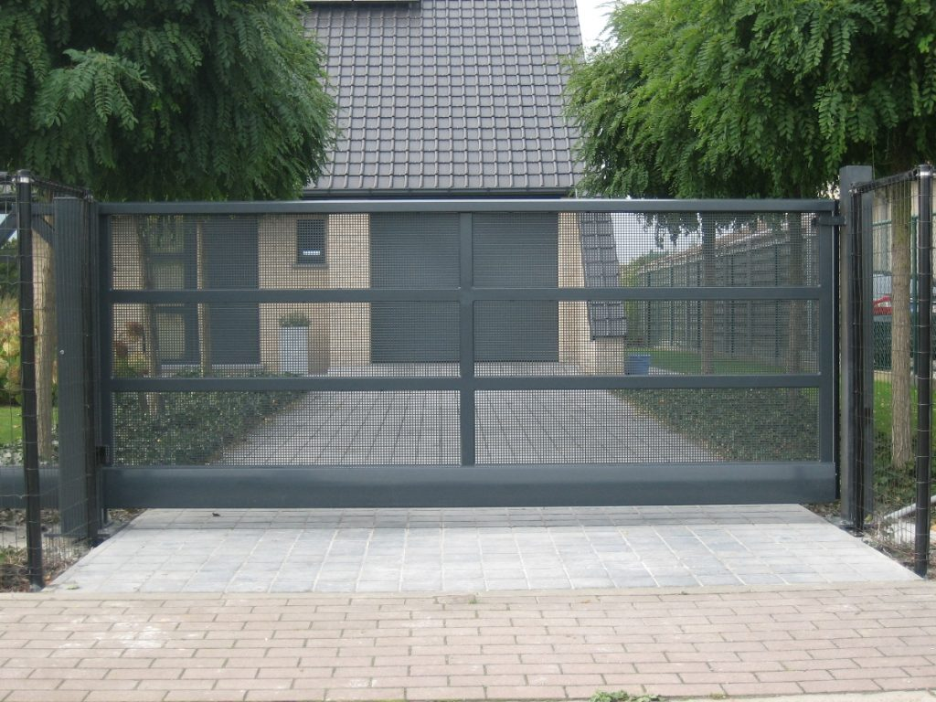 Kwalu perfo poort D-fence