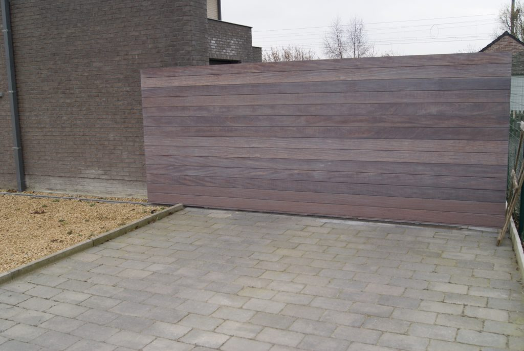 Forest Latem poort D-fence