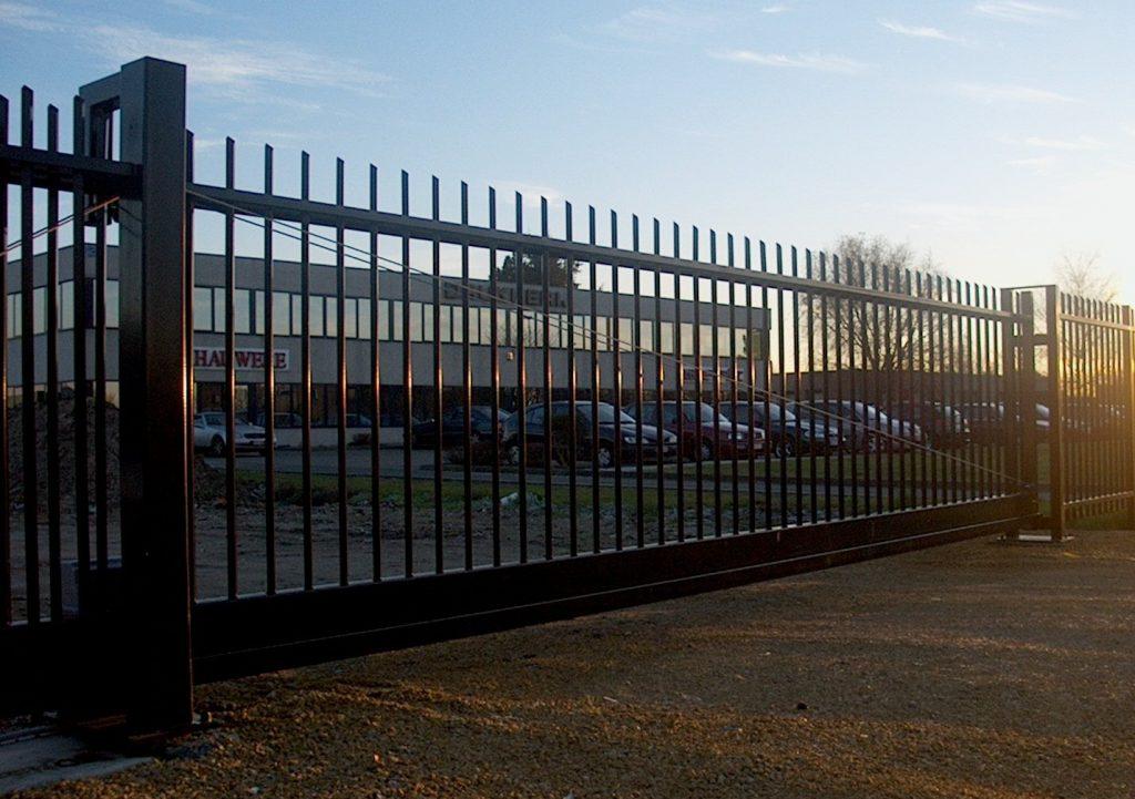 Solida poort D-fence