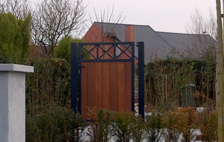 Forest Berlare poort D-fence